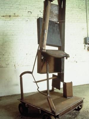 Hardingham Dream, 1990. Steel, rust